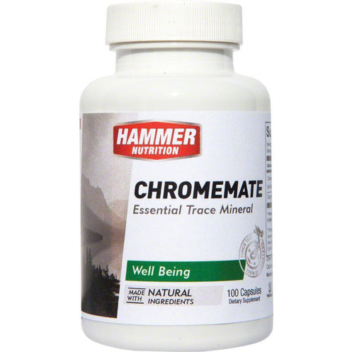 Hammer Nutrition Hammer Chromemate Capsules: Bottle of 100 Capsules