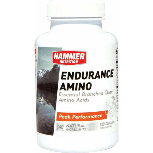 Hammer Nutrition Hammer Endurance Amino: Bottle of 120 Capsules