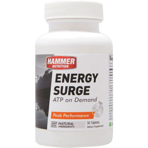 Hammer Nutrition Hammer Energy Surge: Bottle of 30 Capsules