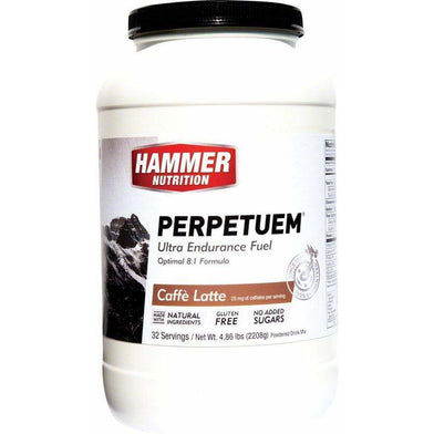 Hammer Nutrition Hammer Perpetuem: Cafe Latte (with caffeine) 32 Servings