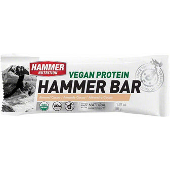 Hammer Nutrition Hammer Vegan Recovery Bar: Almond Cacao Box of 12