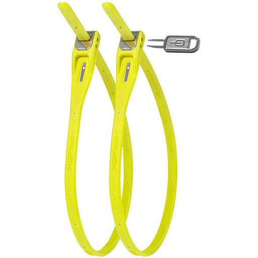 Hiplok Z-Lok Security Tie Bike Lock Twin Pack: Lime