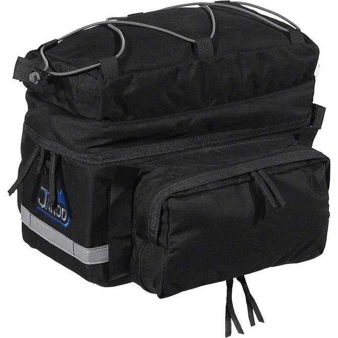 Rear Rack Pack with Side Panniers