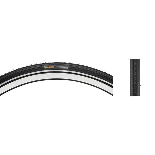 "K40 Street Bike Tire with K-Shield: 26"" x 1 3/8"", Steel Bead"