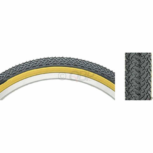 K55 Street BMX Bike Tire 20x1.75 Steel Bead Black/Tan