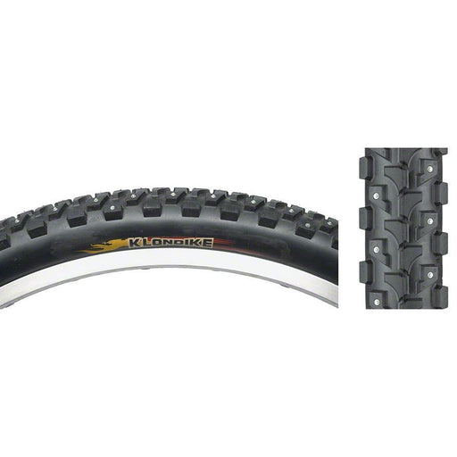 Klondike K946 Studded Bike Tire 26x1.95, 168 Studs Steel Bead