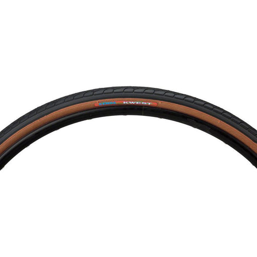 "Kwest K193 Bike Tire 26"" x 1.25"" Steel Bead Black with Mocha Sidewall"