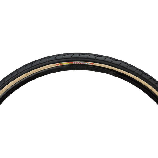 "Kwest K193 Bike Tire 26"" x 1.5"" Steel Bead Black with Skinwall"