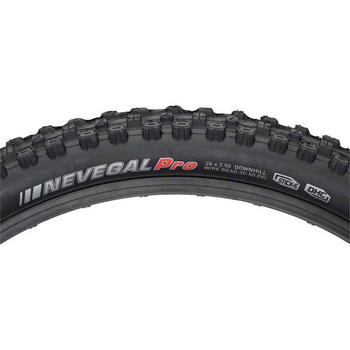 "Nevegal DH Bike Tire: 26"" x 2.5"" Stick-E Rubber with CAP, Steel Bead"