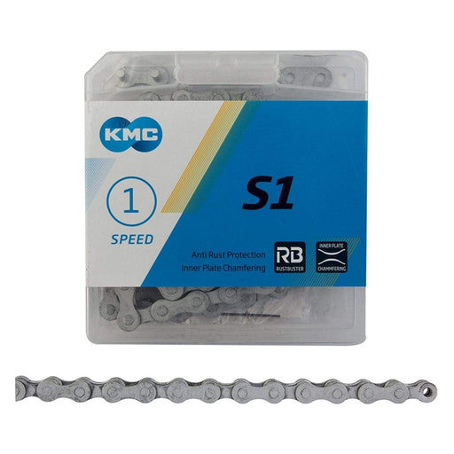 "KMC Rust Buster Single Speed Bike Chain, 1/2"" X 1/8"", 112"