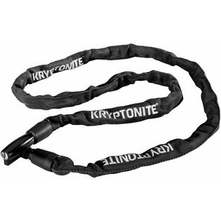 Kryptonite  Keeper 411 Chain Lock with Key: Black, 4 x 110cm
