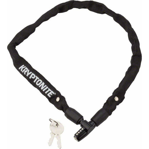 Kryptonite  Keeper 465 Chain Bike Lock with Key: 2.13' x 4mm