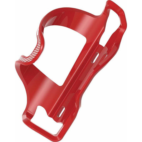 Lezyne Flow Cage SideLoader Right Entry, Enhanced Graphics, Red