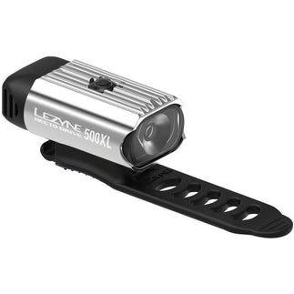 Lezyne Hecto Drive 500XL Bike Headlight: Polish