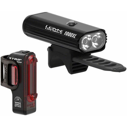 Lezyne Lite Drive 1000XL/StripPro Light Set