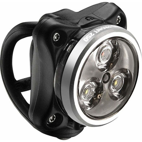Lezyne Zecto Drive 250 Lumens Bike Headlight: Polish