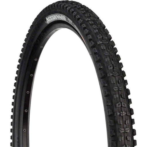 "Maxxis Aggressor Bike Tire: 29 x 2.30"", Folding, 120tpi, Dual Compound, 2-Ply Double Down, Tubeless Ready"