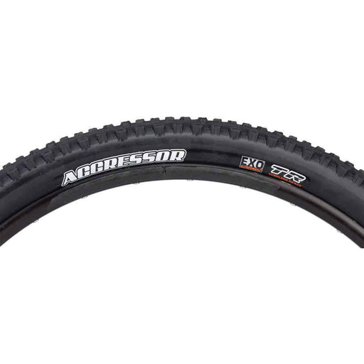 "Maxxis Aggressor Bike Tire: 29 x 2.30"", Folding, 60tpi, Dual Compound, EXO, Tubeless Ready"