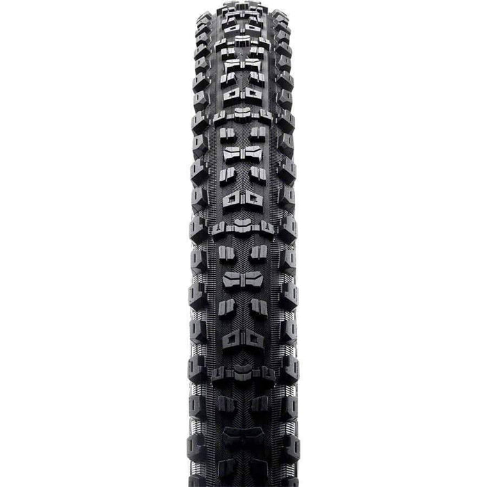 "Aggressor Bike Tire: 29 x 2.50"", Folding, 60tpi, Dual Compound, EXO, Tubeless Ready, Wide Trail"