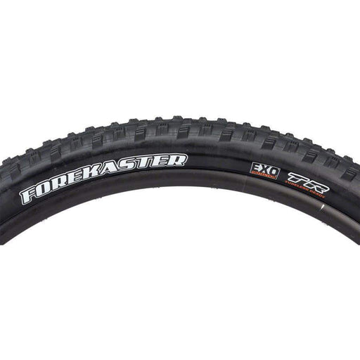 "Maxxis Forekaster Bike Tire: 29 x 2.35"", Folding, 120tpi, Dual Compound, EXO, Tubeless Ready"