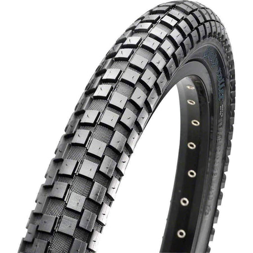 "Holly Roller Bike Tire: 26 x 2.40"", Wire, 60tpi, Single Compound, Black"