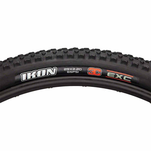 "Ikon Bike Tire: 29 x 2.20"", Folding, 120tpi, 3C, EXO, Black"