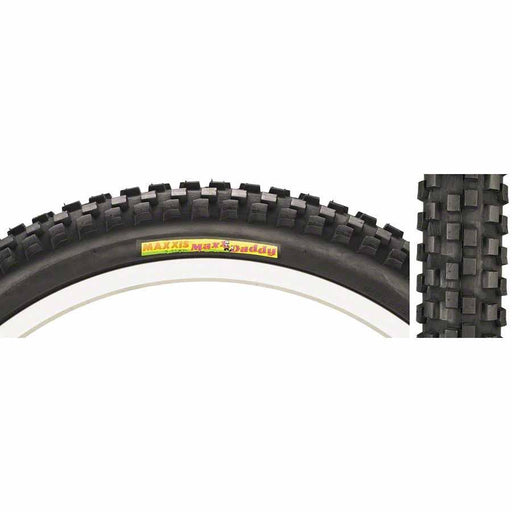 "MaxxDaddy Bike Tire: 20 x 2.00"", Wire, 60tpi, Single Compound"