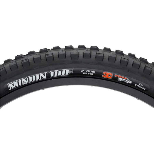"Minion DHF Bike Tire: 24 x 2.40"", Wire, 60tpi, 3C MaxxGrip 2-Ply"