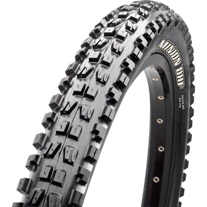 "Minion DHF Bike Tire: 26 x 2.50"", Wire, 60tpi, 3C 2-Ply, Black"