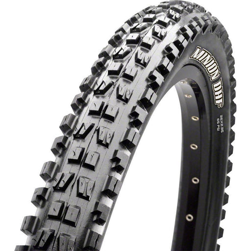 "Maxxis Minion DHF Bike Tire: 27.5 x 2.50"", Folding, 120tpi, 3C, Double Down, Tubeless Ready, Wide Trail"