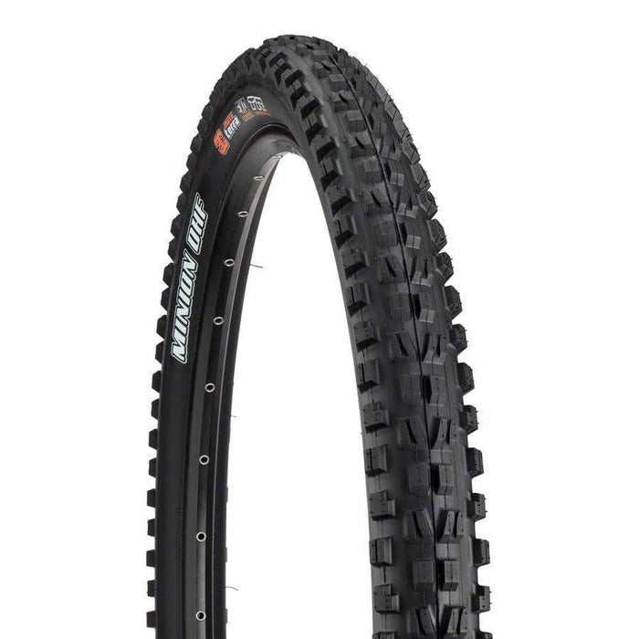 "Minion DHF Bike Tire: 29 x 2.50"", Folding, 60tpi, Dual Compound, EXO, Tubeless Ready, Wide Trail"