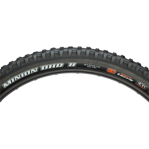 "Maxxis Minion DHR II Bike Tire: 27.5 x 2.40"", Folding, 60tpi, 3C, EXO, Tubeless Ready, Wide Trail"