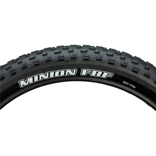 "Minion FBF Bike Tire: 26 x 4.00"", Folding, 120tpi, Dual Compound, EXO, Tubeless Ready"
