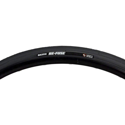 Re-Fuse Bike Tire: 700 x 28c, Folding, 60tpi, Single Compound, MaxxShield