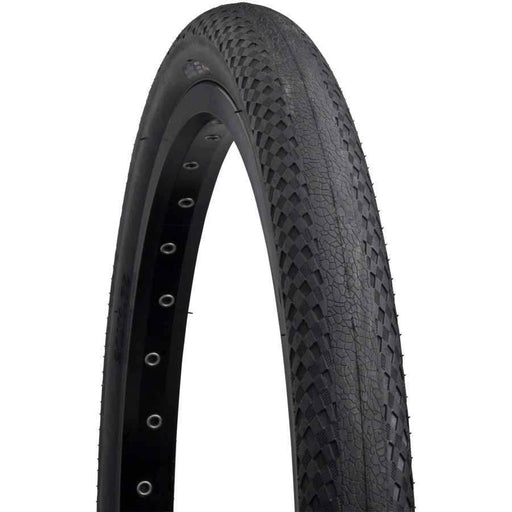 "Relix Bike Tire: 20 x 1.75"", Folding, 120tpi, Silk Worm, Black"