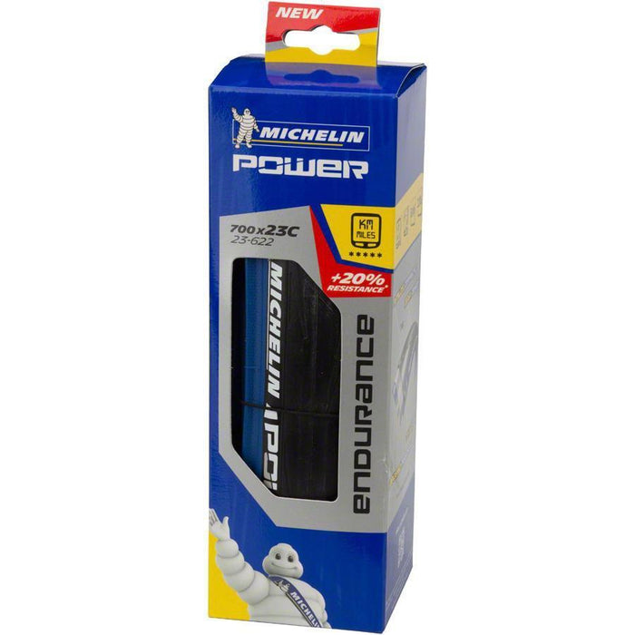 Power Endurance Bike Tire 700x23mm Blue