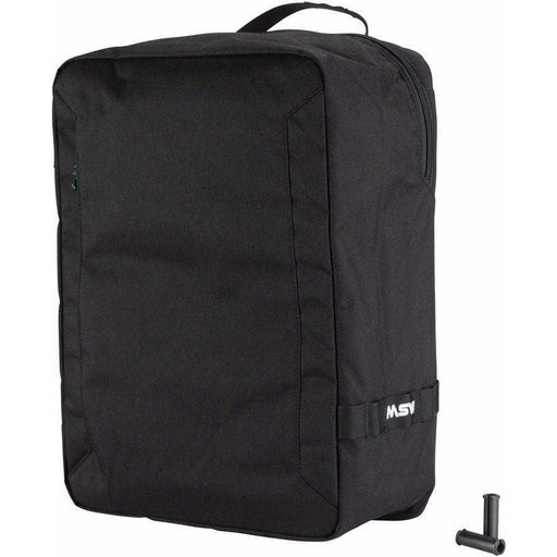 MSW Blacktop Pannier Bag Black