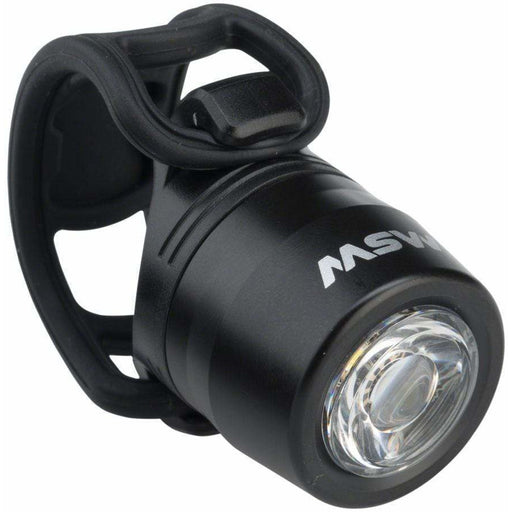 MSW HLT-017 Cricket Black USB Rechargeable Commuter Front Bike Light