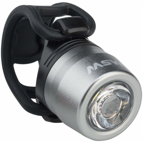 MSW HLT-017 Cricket USB Headlight Silver