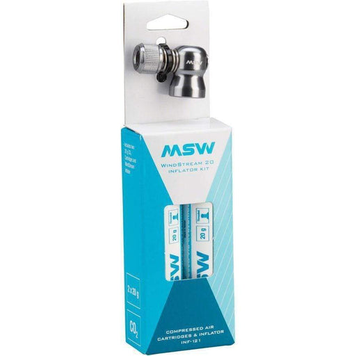 MSW INF-100 Windstream Kit with two 20g CO2 Cartridges