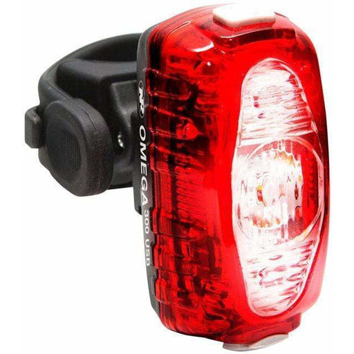 NiteRider Omega 300 Water Resistant Rechargeable Rear Bike Light