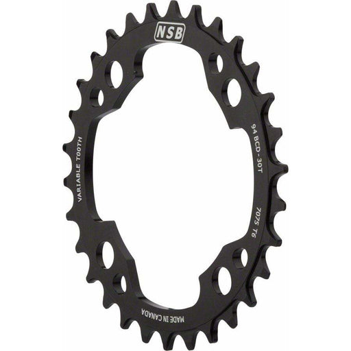 North Shore Billet Variable Tooth Chainring 94mm BCD, for SRAM X01 Cranks