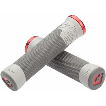 ODI AG2 - Graphite, Cool Gray Bike Lock-On Handlebar Bike Handlebar Grips