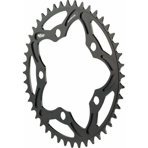 ONYX Racing Products Onyx 5 Bolt Chainring: 43t, Black