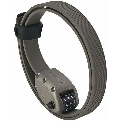 "Ottolock  HEXBAND Cinch Lock: 18"", Titanium Gray"