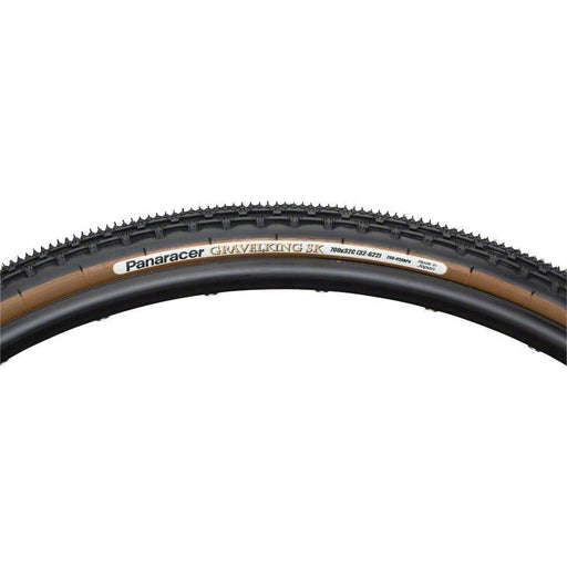 GravelKing SK Bike Tire 700x38 Folding Bead, Brown Sidewall