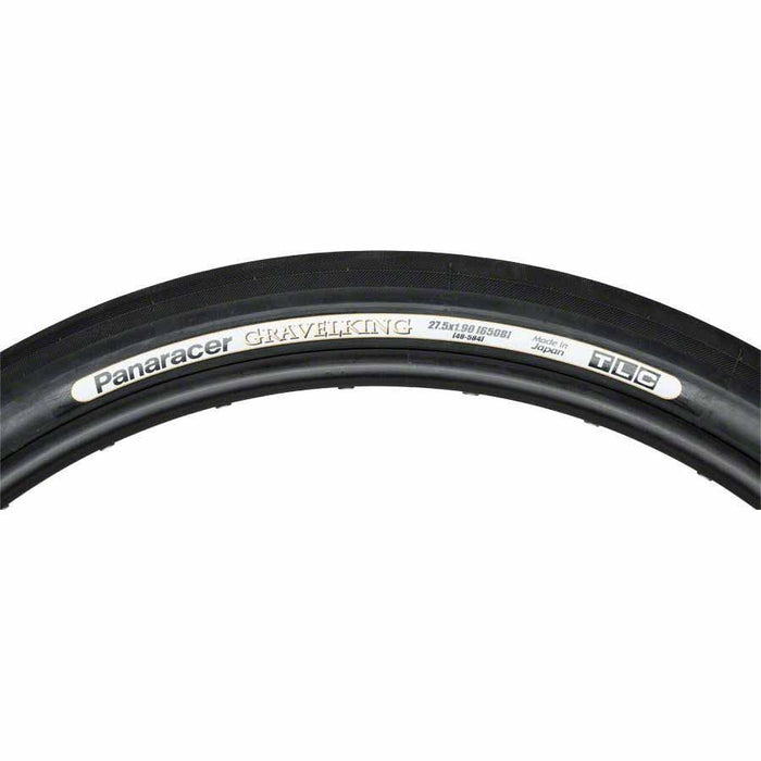 Panaracer GravelKing Slick Bike Tire 27.5x1.9 (650B x 48mm) Folding Bead