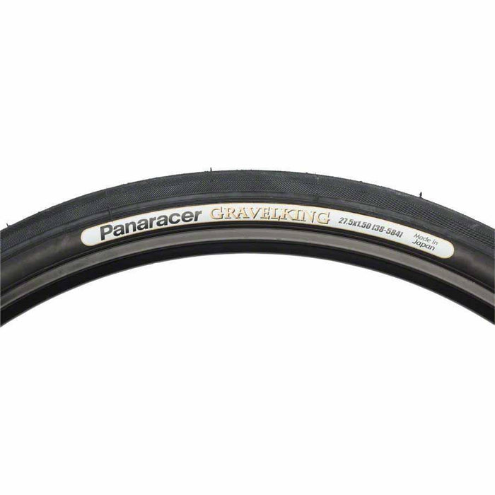 Panaracer GravelKing Slick Bike Tire 650x42mm Black Sidewall