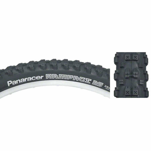 "Rampage 29"" x 2.35 Folding Bead Bike Tire"