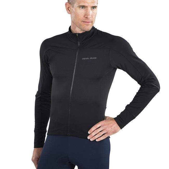 Pearl Izumi Men's Attack Thermal Long Sleeve Road Jersey - Black